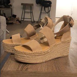 Never Worn! Soludos Sandal Wedges- Palma Platform